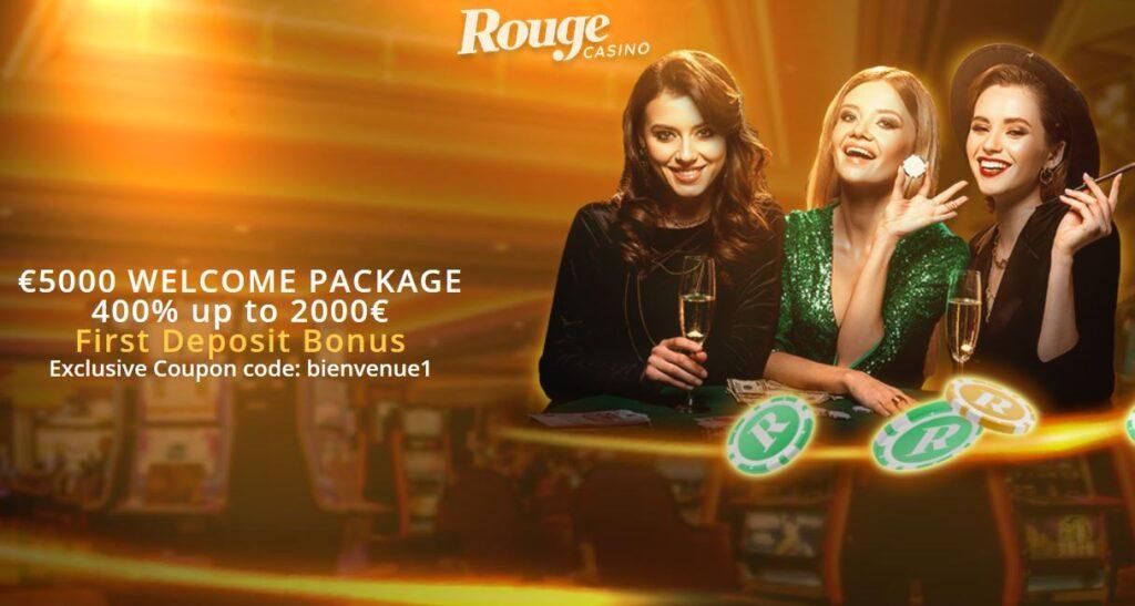 bonusy w kasynie Rouge Casino